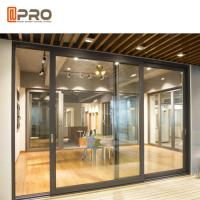 Buy cheap Thermal Break Aluminium Sliding Glass Doors Color Optional With Security System product