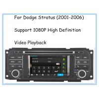 Buy cheap Audio Copy Mirror Link 2001 - 2006 Dodge Stratus Radio High Definition Car DVD Player 3D UI product