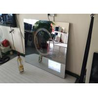 Buy cheap Rectangle Backlit Bath Mirror Tv , Mirror Finish Tv With Muliti Language product