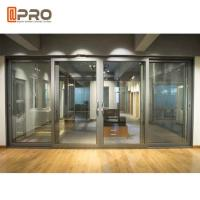 Buy cheap Modern Design Powder Coated Aluminium Sliding Doors For Office Color Optional product