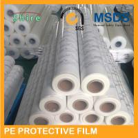 Buy cheap Milky White Color PE Protective Film For Stainless Steel 3 Color Logo Printable product