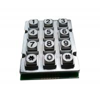 Buy cheap IP65 zinc alloy industrial metal keypad for door access control security system product
