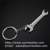 Buy cheap Metal tool lever key ring, metal wrench lever tool key holder keychains wholesale, product