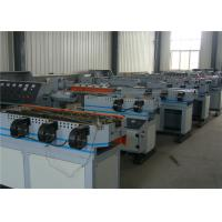 PE Single Wall Corrugated Pipe Machine , Plastic Extrusion Lines