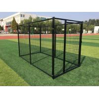 Buy cheap Powder Coated Outdoor Metal Dog Kennel Welded Wire Mesh 3000mm Length from wholesalers