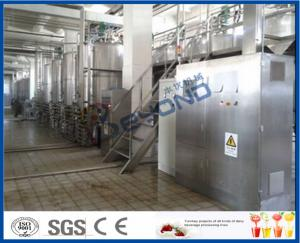 Buy cheap Skid Frame  SUS304 Dairy Industrial Yogurt Making Machine small scale product