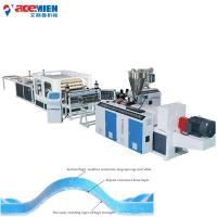 Buy cheap Spanish Style Roof Tile Machine For Products PVC Roofing Tile Extrusion product
