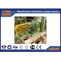 Buy cheap Belt driven Roots Lobe Biogas Blower air capacity 1200m3/h Belt driven product