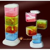 Buy cheap Colorful Kitchenware 360 Spice Cup Case Christmas Gift product