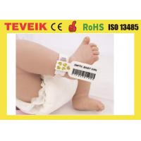 Quality Medical Rfid Wristband For Baby Identification with factory price for large order for sale