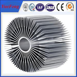 Buy cheap Hot sale aluminium led radiator profile, OEM style sunflower led aluminum profiles product