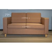 Buy cheap Wood frame , fabric Material Hotel Lobby Sofa Bed with mattress for Modern Hotel product