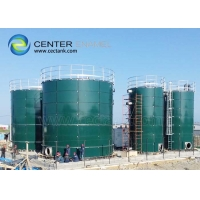 Buy cheap BSCI Glass Lined Steel Fire Protection Water Storage Tanks product