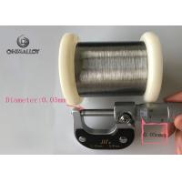 Buy cheap Silver Plated Copper Based Alloys Ultra Thin 40wag / 44awg With Pvc Coated product