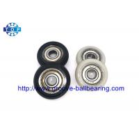 Buy cheap Nylon Plastic Embedded 608, Pulley Wheel Bearing 608ZZ, Carbon Steel Ball from wholesalers