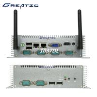 I3 Fanless Industrial Computer 6COM 3217U CPU Intel HD 4000 Graphics Dual LAN