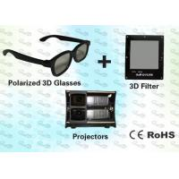 Buy cheap 3D Polarized Glasses with Trolley and 3D Projector for Home Theater product
