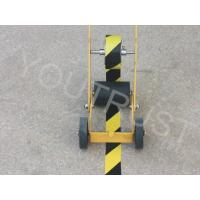 Buy cheap Custom Visiable PVC Warning Tape High Stability Easy Transversal Tearability product