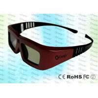 Buy cheap Cinema IR Active shutter adult 3D glasses GT100, iron red color product