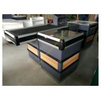 Buy cheap Supermarket Checkout Counter With Conveyor Belt from wholesalers