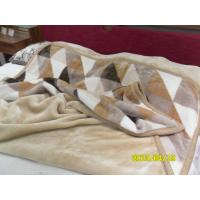 Buy cheap Soft Antistatic Single Bed Blankets Raschel Blanket For Home/Hospital product