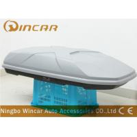 Buy cheap Dual Open 445L Sliver off road Car Roof Boxes in ABS Material , 189*89*36cm product