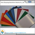Buy cheap Building Aluminium Alloy Sheet RAL Color Coated Aluminium Sheet 1000mm Width product