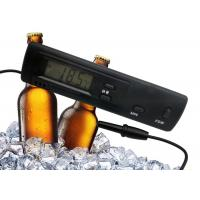 Buy cheap Black Color Refrigerator Freezer Digital Thermometer With 1 Meter Molded Case Probe product