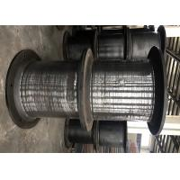 Heavy Duty Cell Type Boat Rubber Fenders For Large Vessels Cylinder Custom Size