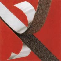 Buy cheap Mixed Material 25mm Brown Strong Sticky Back Hook And Loop Tape For Cable , from wholesalers