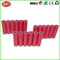 Buy cheap Sanyo 08600 Cylindrical Lithium Ion Battery , Highest Capacity 18650 Li Ion Battery product