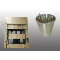 Buy cheap Bucket Pressing Hydraulic Deep Drawing Press Convenient With Movable Worktable product