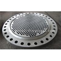 Buy cheap Tube Sheet Double Stainless Steel Forged Disc 1.4462, F51, S31803 F60, S32205 F53, S32750 product