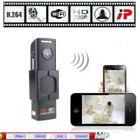 Buy cheap Wholesale - H.264 HD 720P Mini Wifi IP Camera Wireless Hidden Spy Security Camera DVR CCTV product