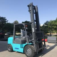 Buy cheap 6m Lift Height Diesel Engine Forklift Truck 4 Ton Streamline Balance Weight product