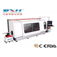 Buy cheap 500W Metal Laser Cutting Machine / Laser Tube Cutting Machine Chiller Coolding Type product