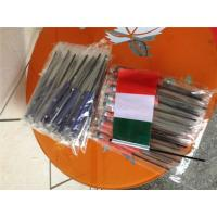 Buy cheap Digital Printing Knitted Custom Hand Waving Flags With Plastic Poles product