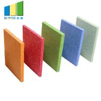 Buy cheap 100% Polyester Acoustic Panels , 3D Sound Diffusive Decorative Interior Wall from wholesalers