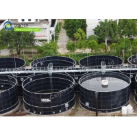Buy cheap Acid Proof Glass Lined Steel Anaerobic Digester Tank product