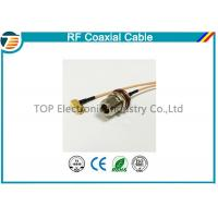 Buy cheap N Type 50 OHMS Different RF Coaxial Cable RG136 , RG174 , RG178 product