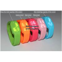 Buy cheap Cheapest colorful LED wach, LED mirror watch for young product