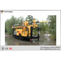 Buy cheap High Torque Water Well Drill Rig Used in Rock Layer, Soil Layer, Sand Pebble Layer product