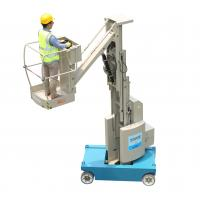 Buy cheap 8m Platform Height 360 Degree Free Rotation Self Propelled Mast Boom Lift product