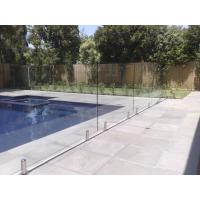 Buy cheap 316 Anti-Rust Stainless Steel Spigots Frameless Swimming Pool Glass Railing product