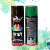 Buy cheap Metallic Acrylic Aerosol Paint Liquid Coating State For Metal / Wood / Glass product