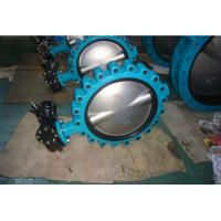 Buy cheap Full Bore Butterfly Valve Ss304 , Cast Iron Butterfly Control Valve from wholesalers