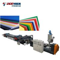 Buy cheap Plastic Corrugated Box PP Hollow Sheet Extrusion Line High Efficiency Durable product