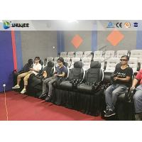 Buy cheap Amazing 7D Movie Theater Equipment , Game Theater With 12 Wonderful Special Effect Chairs product
