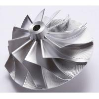 Buy cheap Forged 5 Axles CNC Fully Machined Aluminum Billet Compressor Wheel product