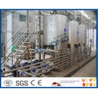 Buy cheap SUS304 Stainless Steel Automatic Dairy Processing Plant Milk Processing Equipment High Efficiency product